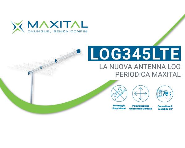 LOG345LTE – Antenna Log periodica
