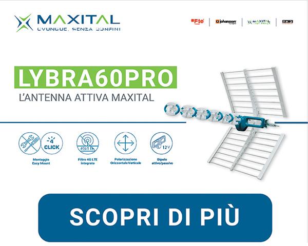 LYBRA60PRO – L'antenna attiva Maxital