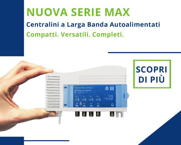 Centralini a larga banda Serie MAX