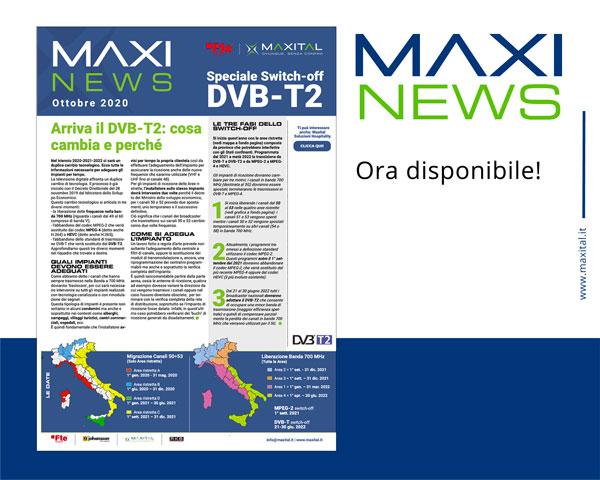 MAXI NEWS – Speciale DVB-T2