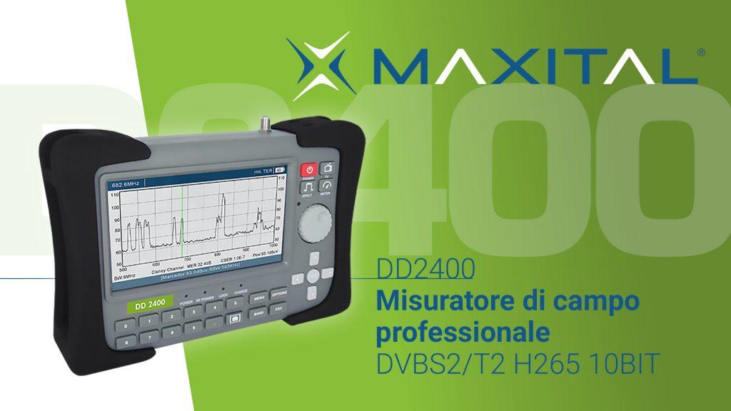 DD2400 Misuratore di campo professionale